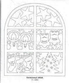 Filigrán-Karácsony-tél - Írisz Magyar - Picasa Web Albums --- for paper cut work