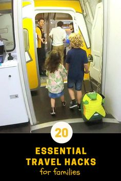 Heading on a family holiday? Here are 20 essential family travel hacks you need to know right now!