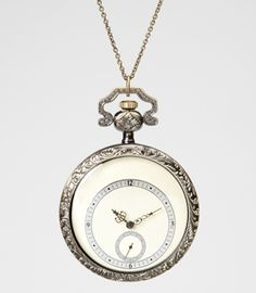 Alice Time Piece Watch Necklace