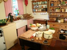 1940s kitchen: NEN Gallery. My plan for our kitchen in Tasmania. House built in 1947. I want to redate it to the era.