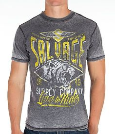 Salvage Live To Ride T-Shirt