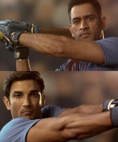 Dhoni and Sushant Singh Rajput is not leaving any stone unturned to promote the upcoming biopic on the Captain Cool. Recently, a video was share. Bollywood Actors, Bollywood Celebrities, Ms Doni, Ms Dhoni Wallpapers, Ms Dhoni Photos, India Cricket Team, Cricket Wallpapers, Bridal Makeup Looks, Wedding Makeup