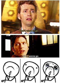 I bawled...