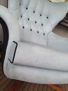"""Reupholstered G Plan swivel rocking chair """"Worlds Most Comfortable Chair"""" Chair. And it is !"""