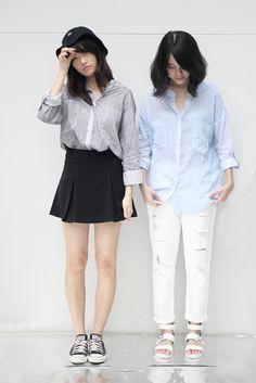 Sheer Patterned Shirt (Grey)