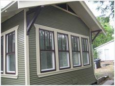 california paint exterior colors | exterior paint green button homes