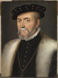 Portrait of Anne de Montmorency . . . François Clouet (circa 1515-1572) (after)