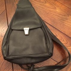 JUST IN!! Nine West Backpack Purse Chocolate backpack purse with zip straps. Nine West Bags Backpacks