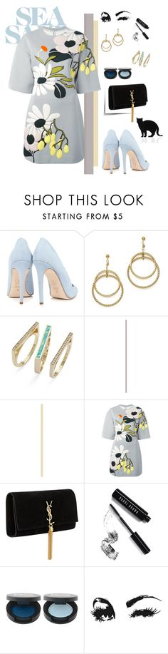 """""""Untitled #131"""" by marye-moon ❤ liked on Polyvore featuring Dee Keller, Bloomingdale's, Kendra Scott, Marni, Yves Saint Laurent, Bobbi Brown Cosmetics and 157+173 designers"""