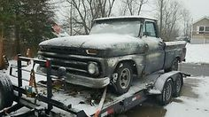 1965 Chevrolet C-10 Custom - item condition used up for sale is a cool looking rat rod 1965 chevy c10 2wd 12 ton pick up these are pretty rare espically up in the northeast