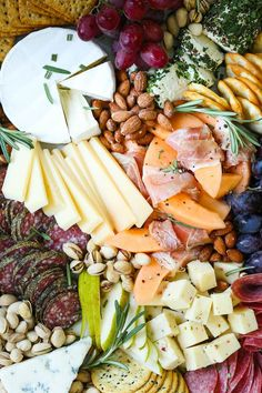 How to Make a Meat and Cheese Board - All you need to know to make an awesome cheese and charcuterie board! It's simple, easy and so impressive for a crowd!