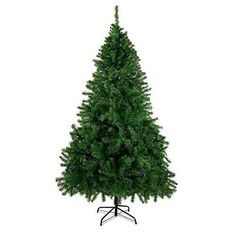 CHEERSON Christmas Pin Tree, Durable, Easy-Assembly Artificial Evergreen Christmas Tree with Solid Metal Legs