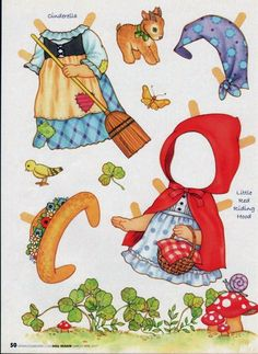L'Atelier de Mam'selle Chocolat: Muñecas de papel recortables