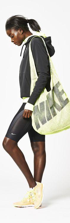 Seamless style. #Nike #Training