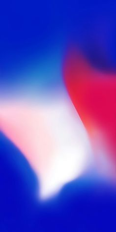 Ios 11 Red Blue Abstract Apple Wallpaper Iphone X Iphone 8
