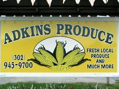 Adkins Produce - Millsboro, DE Locally made sausage, produce and more. Established 1976. https://www.facebook.com/pages/Adkins-Produce/1869223393216899