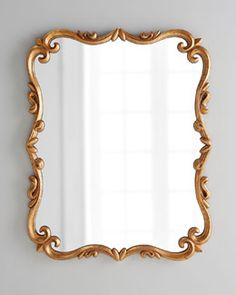 """Shop """"Chippendale"""" Mirror at Horchow, where you'll find new lower shipping on hundreds of home furnishings and gifts. Large Round Mirror, Huge Mirror, Pink Mirror, Round Mirrors, Floor Mirrors, Wall Mirrors, Bathroom Wall Decor, Wall Art Decor, Modern Victorian Decor"""