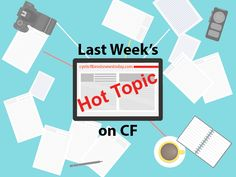 Find out more about last week's hot topic on cystic fibrosis.