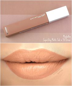 makeup organization – Hair and beauty tips, tricks and tutorials Maybelline Superstay, Maybelline Lipstick Shades, Maybelline Matte Ink, Maybelline Makeup, Lip Makeup, Mac Lipsticks, Beauty Makeup, Green Lipstick, Lipstick For Fair Skin