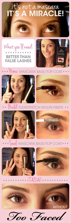 Better Than False Lashes Tutorial #BTFLDiary www.toofaced.com