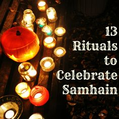 Samhain coincides with Halloween, but it is an entirely different holiday, focused on the spiritual side of the transition from fall to winter. Feel like celebrating tonight differently and getting back in touch with the cycles of nature? Give one of these 13 pagan traditions a try: Different Holidays, Samhain, Pagan, Light Bulb, Spirituality, Leaves, Touch, Traditional, Feelings