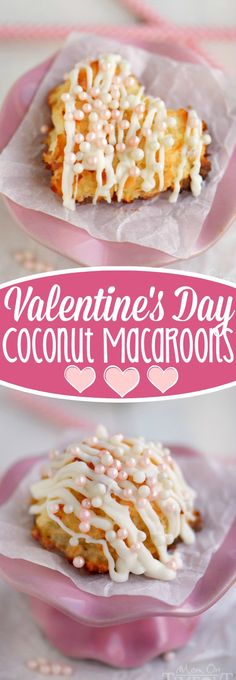 valentine's day macaroon recipe