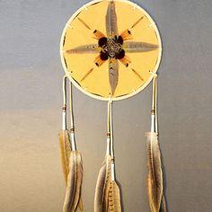 "Medicine Shield - Tan 8"" Aboriginal Artists, Medicine, Artisan, Craftsman, Medical"