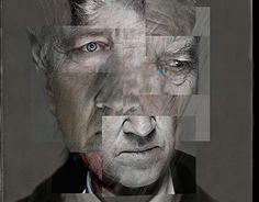 David Lynch Portrait. Paul Justelious-Wright