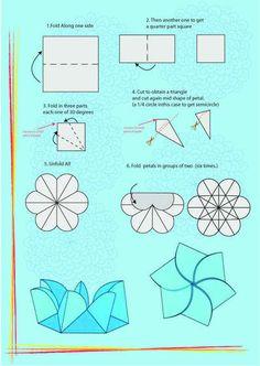 folding paper card