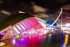 City of Arts and Sciences (Valencia, Spain), Ciudad de las Artes y las Ciencias (Valencia, España)
