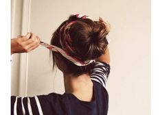 Lucky for us, messy buns and waves are trendy right now. Get a few quick up-do tricks under your belt, so you can reuse multiple styles quickly in the morning. Pin your hair up in a tight bun for a classic look (matches well with a bold lipstick) or try a fish tail braid. Keep a travel comb and several bobby pins on you at all times to maintain the polished look of your 'do all day long.