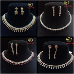 #sets #necklace #earrings #zircon #highquality #richlook  #Beautiful #lovely #elegant #festive #wedding #trendy #designer #exclusive #statement #latest #design #ethnic #traditional #modern #indian #divaazfashionjewellery available Grab them fast 😍😍 Inbox for orders & more details plz Or mail at npsales421@gmail.com Festive, Ethnic, Necklaces, Indian, Traditional, Elegant, Detail, Modern, Earrings