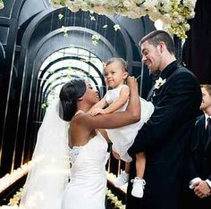 To share one of the happiest moments in a man and woman's life, their wedding: the promise to Love each other and respect one another with their child, pricless in a message of Love and Family!