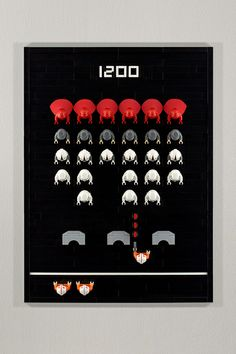 Space Invaders by powerpig, via Flickr