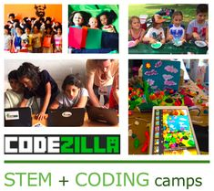 Summer Camps For Kids, Camping With Kids, Coding Classes For Kids, Computational Thinking, Saint Matthew, Stem For Kids, Day Camp, Programming For Kids, Student Studying
