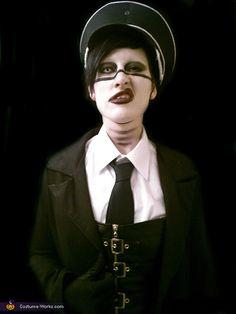 Disfraz de Marilyn Manson.