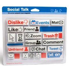 Toh Querendo: Imã para Geladeira Redes Sociais
