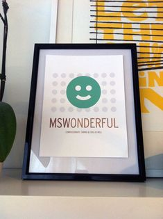 Master of Social Work (MSW) Print on Etsy, $10.00
