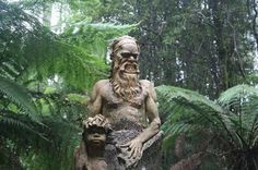 William Ricketts Sanctuary, Melbourne, Australia.