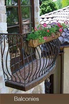 iron works balcony - Bing Images