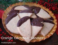 Orange Cornmeal Sandies More