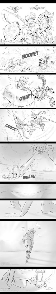 Skyward Sword - The Reason to Fight 1 by Ferisae on DeviantArt (click to read all 4 parts)