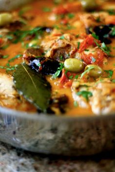 Braised Moroccan Style Chicken - this will be made over and over again. Super easy and received loads of compliments.
