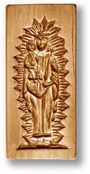 Mary With Child Jesus Springerle Cookie Mold