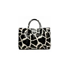 Giraffe-Print Tote ($30) ❤ liked on Polyvore featuring bags, handbags, tote bags, purses, animal print, accessories, giraffe purse, man bag, giraffe tote bag and purse tote