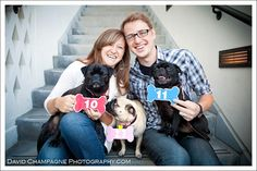 engaged... check! three dogs.... check! i think i found inspiration for our save the date!