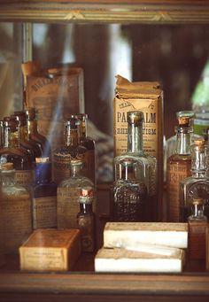 oh old pharmacy bottles