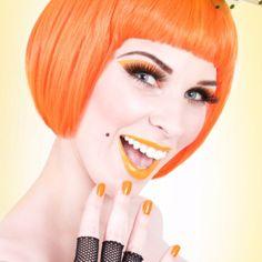 Orange orange orange color-makes-me-happy Hair Orange, Orange Color, Orange Orange, Orange Lips, My Favorite Color, My Favorite Things, Power Colors, Orange You Glad, Orange