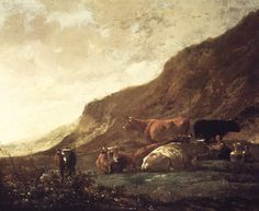 Pastiche of Milking Scenes by Aelbert Cuyp