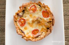 Slimming Eats Caramelized Onion Tart - vegetarian, Slimming World and Weight Watchers friendly Veggie Recipes, Healthy Recipes, Veggie Meals, Clean Recipes, Vegetarian Recipes, Pastry Recipes, Cooking Recipes, Caramelised Onion Tart, Slimming World Recipes Syn Free